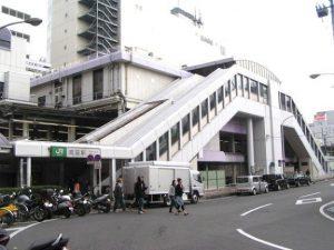 設置場所のJR町田駅について